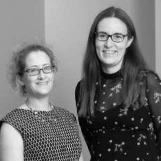 Profile photo of Chloe Mawson and Kate Lawrence, Clerks in the House of Lords, Houses of Parliament
