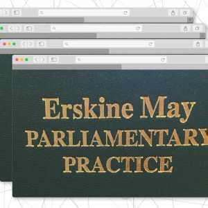 Erskine May online