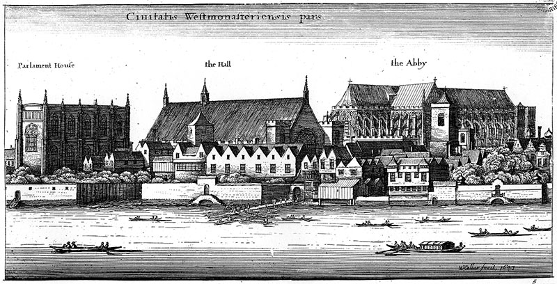 Hollar view of Westminster