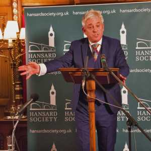 The Speaker of the House of Commons, The Rt Hon. John Bercow MP, giving his 2017 speech, 'Opening up the Usual Channels: next steps for reform of the House of Commons'