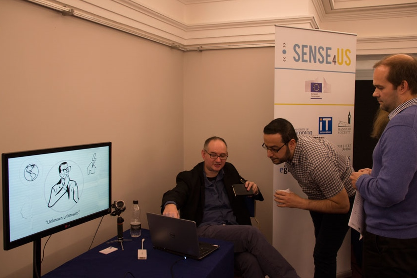 Demonstration of the Sense4Us tools