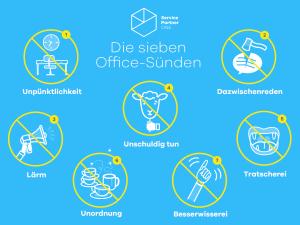 Die sieben Büro-Sünden