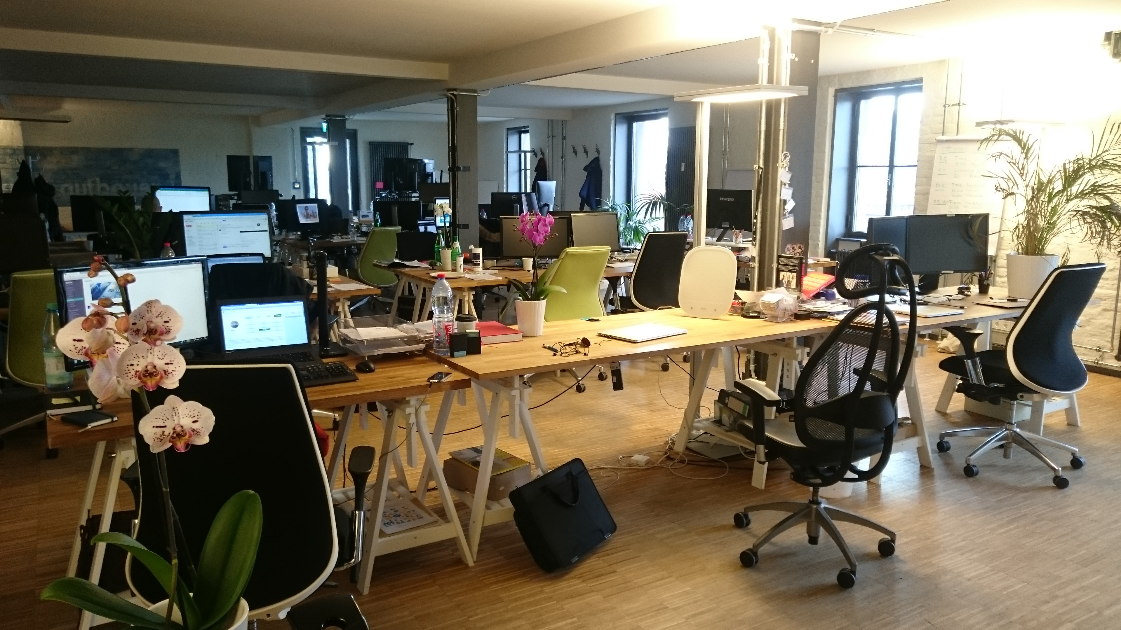 Das Office von OptioPay
