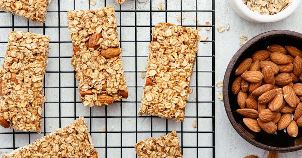 Caraway oat bars Good Eggs