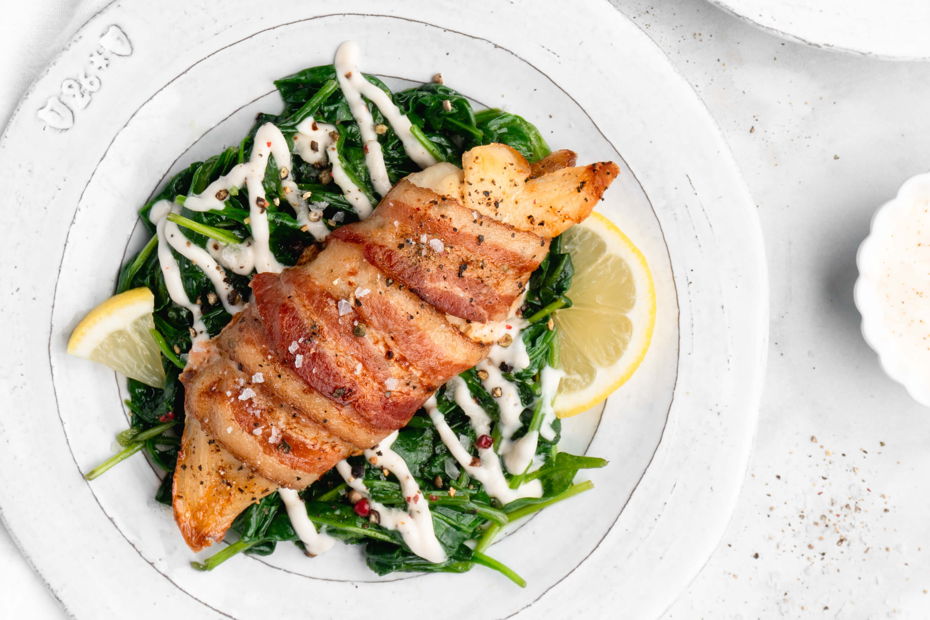 Bacon-Wrapped Tilapia with Spinach & Lemon Aioli00271 (1)
