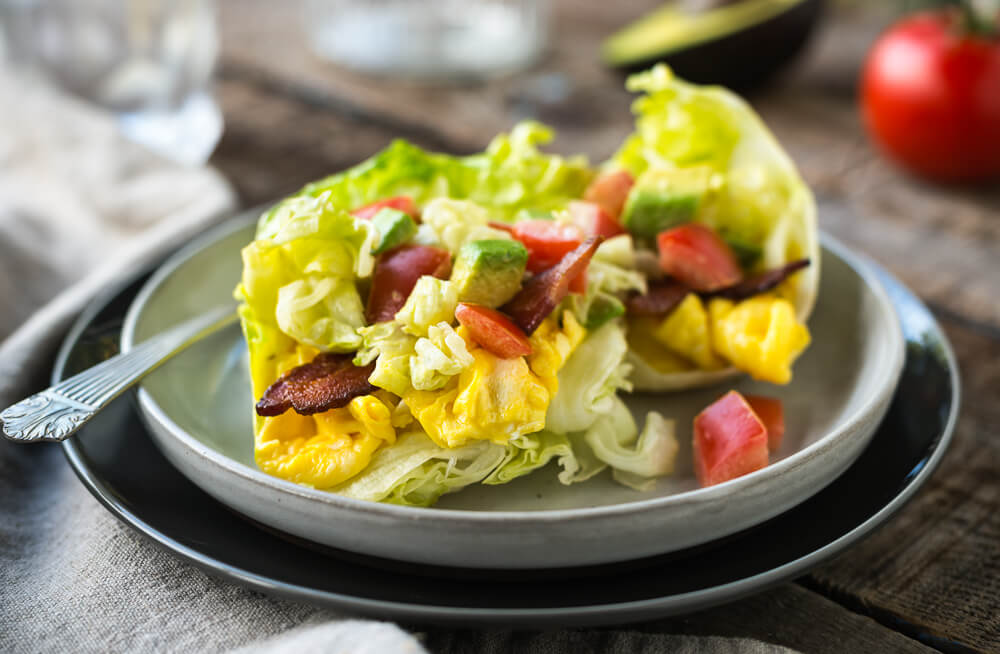 BLT Breakfast Wraps