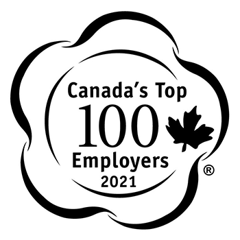 Canada's Top Employers 2021 logo