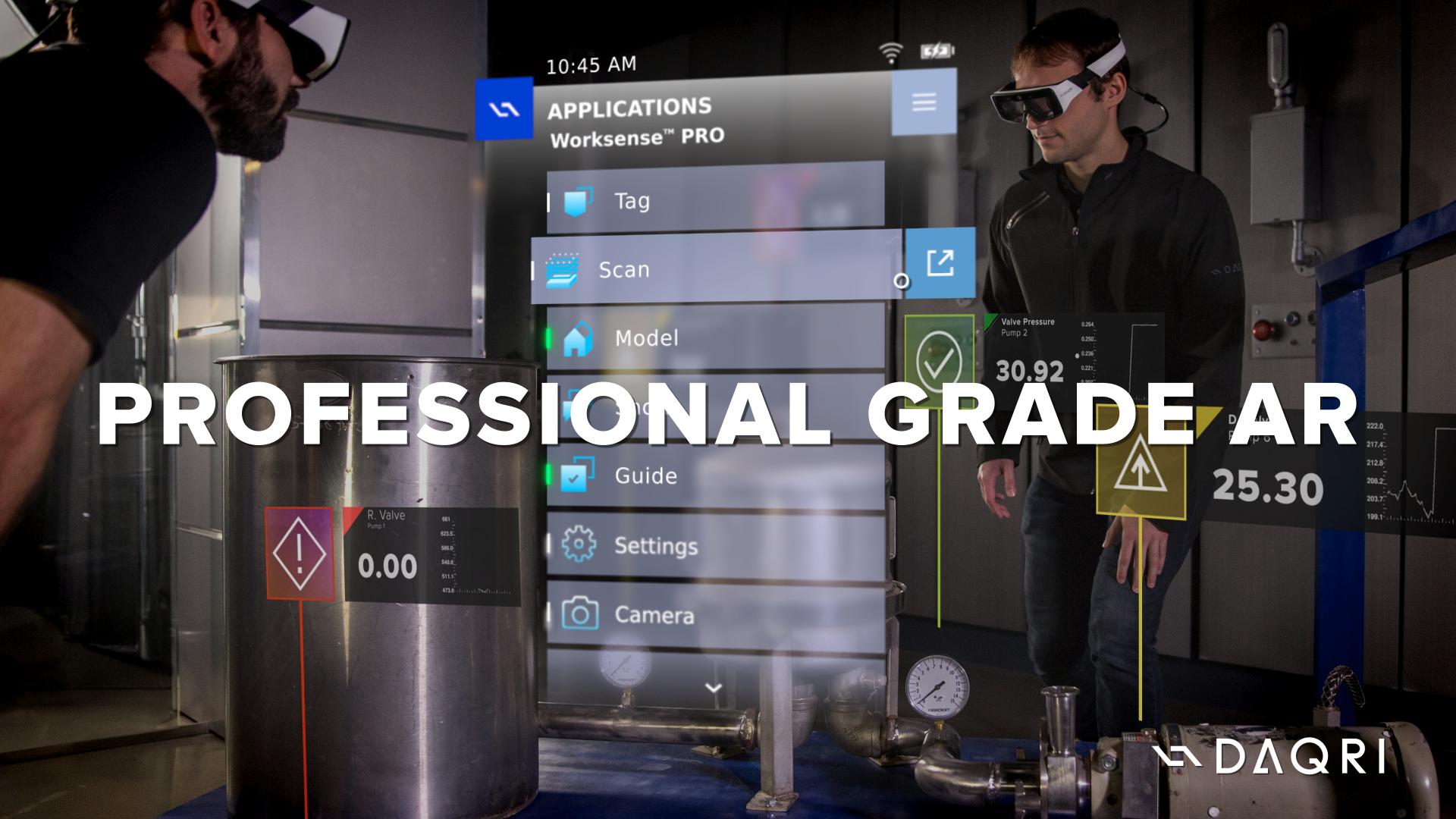 Professional Grade AR - DAQRI