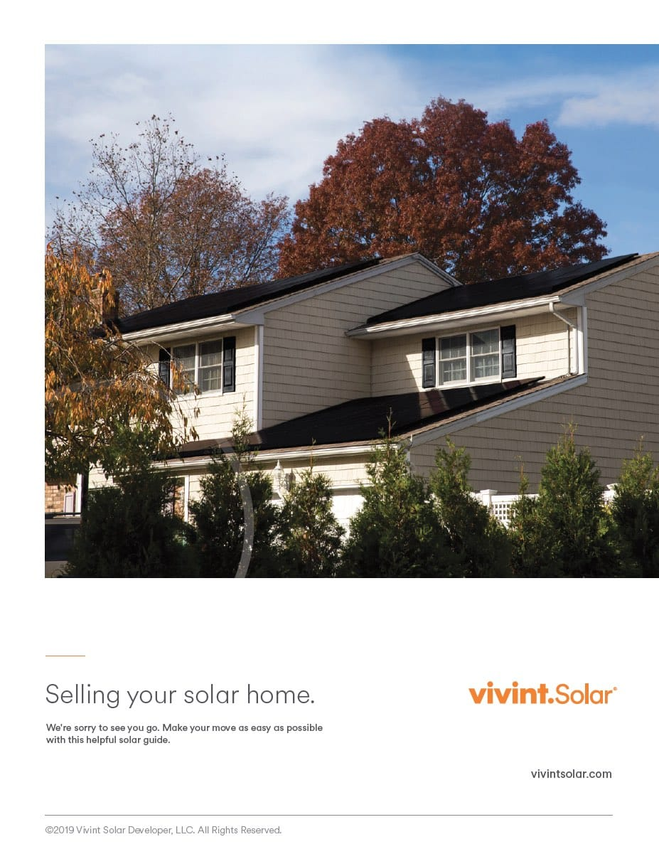 Buying and Selling Homes with Solar Panels | Vivint Solar Blog