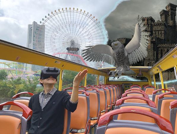シナスタジアの「オープントップXR観光バスツアー@横浜」のストーリーアイディアコンテストが実施されました