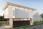 A modern extension designed for an inner Sydney terrace house with a heritage façade.