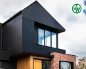 A dramatic MIXED MATERIALS custom home in Melbourne.
