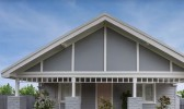 Hardie™ Flex Sheets can be used for classic gables.