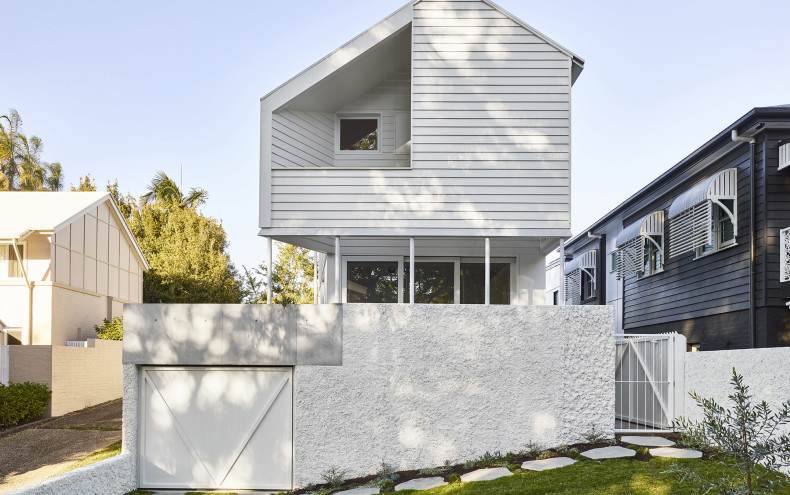 Indooroopilly House_Linea Weatherboards
