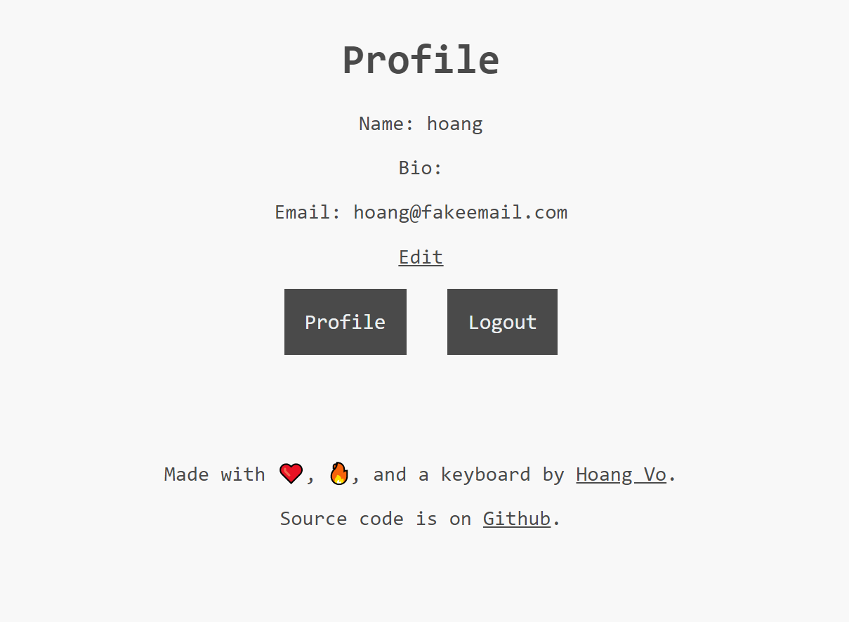 Profile Page - How I build a full-fledged app with Next.js and MongoDB