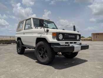 1993 Toyota Land Cruiser PZJ70 Soft Top