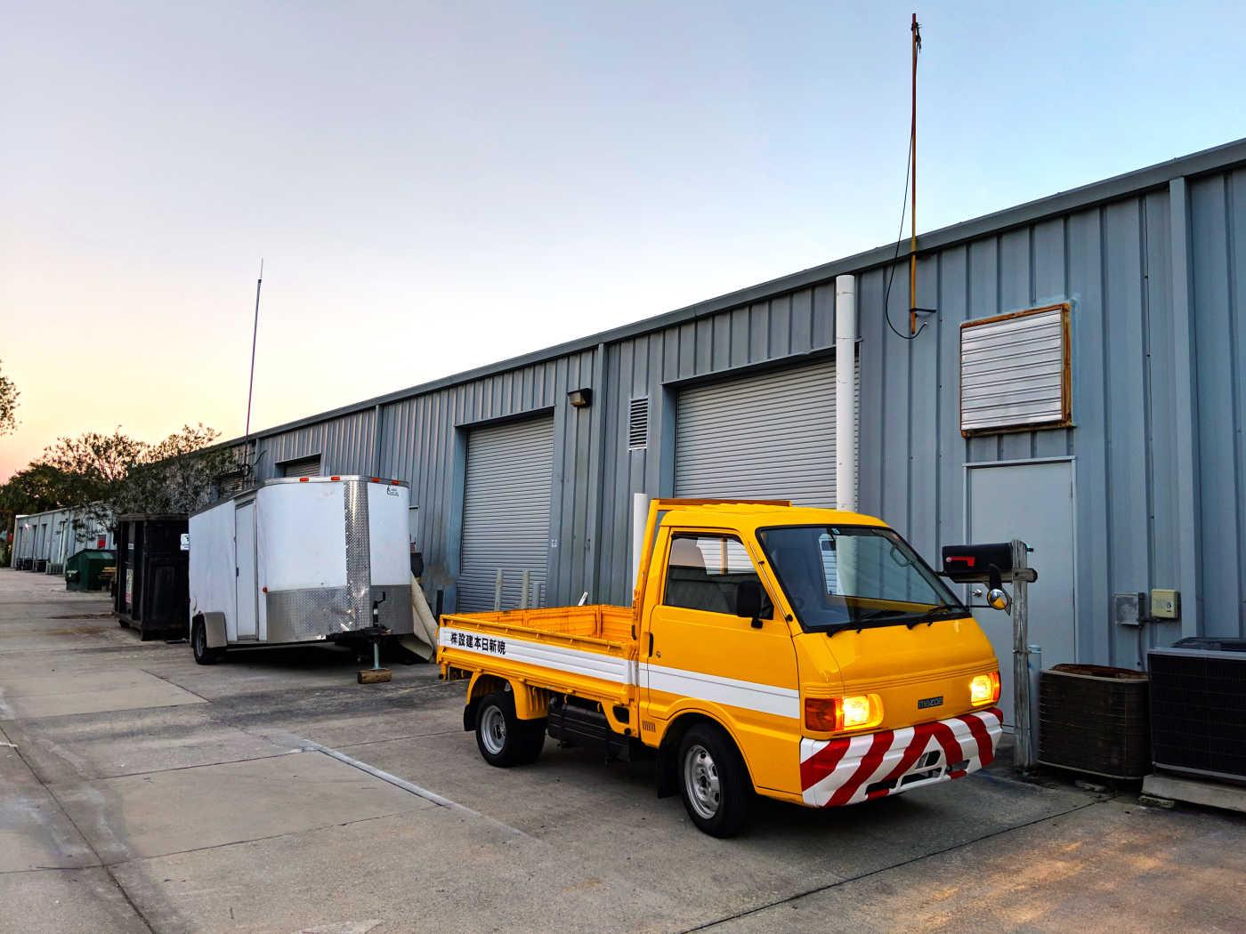 1991 Mazda Bongo Truck - Limerence Motor Co.