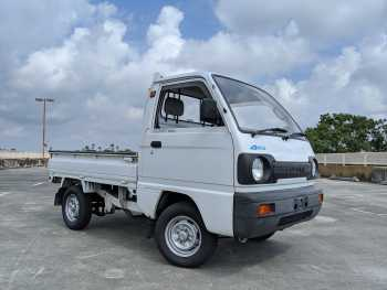 1991 Suzuki Carry 4WD Kei Truck Under 5,000 Miles