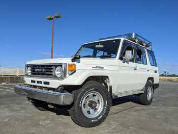 1993 Toyota Land Cruiser LX PZJ77 Narrow Body