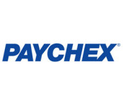 Paychex logo in blue