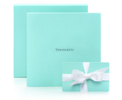 Tiffany boxes in blue