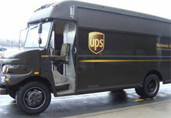 Image of UPS truck