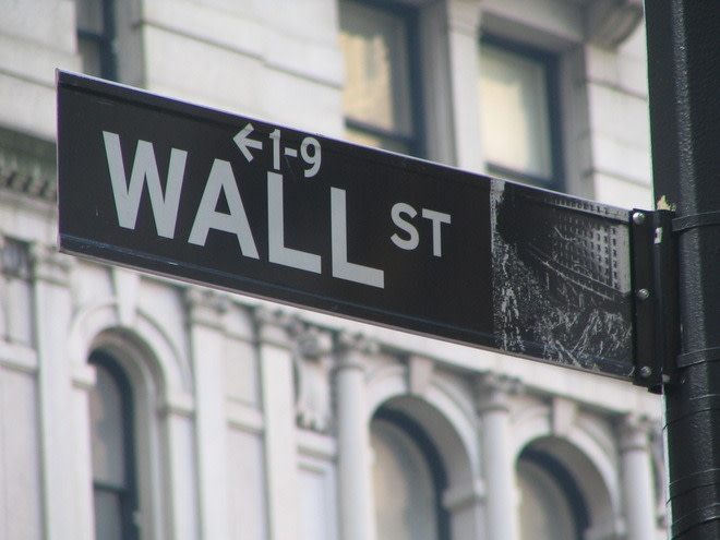 Sign for Wall Street in NYC