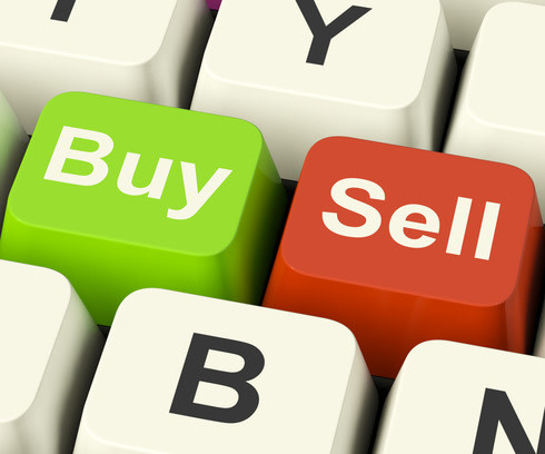 buy and sell keys for stocks