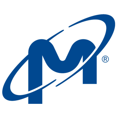 Micron Technology logo in blue