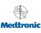 Medtronic logo in blue