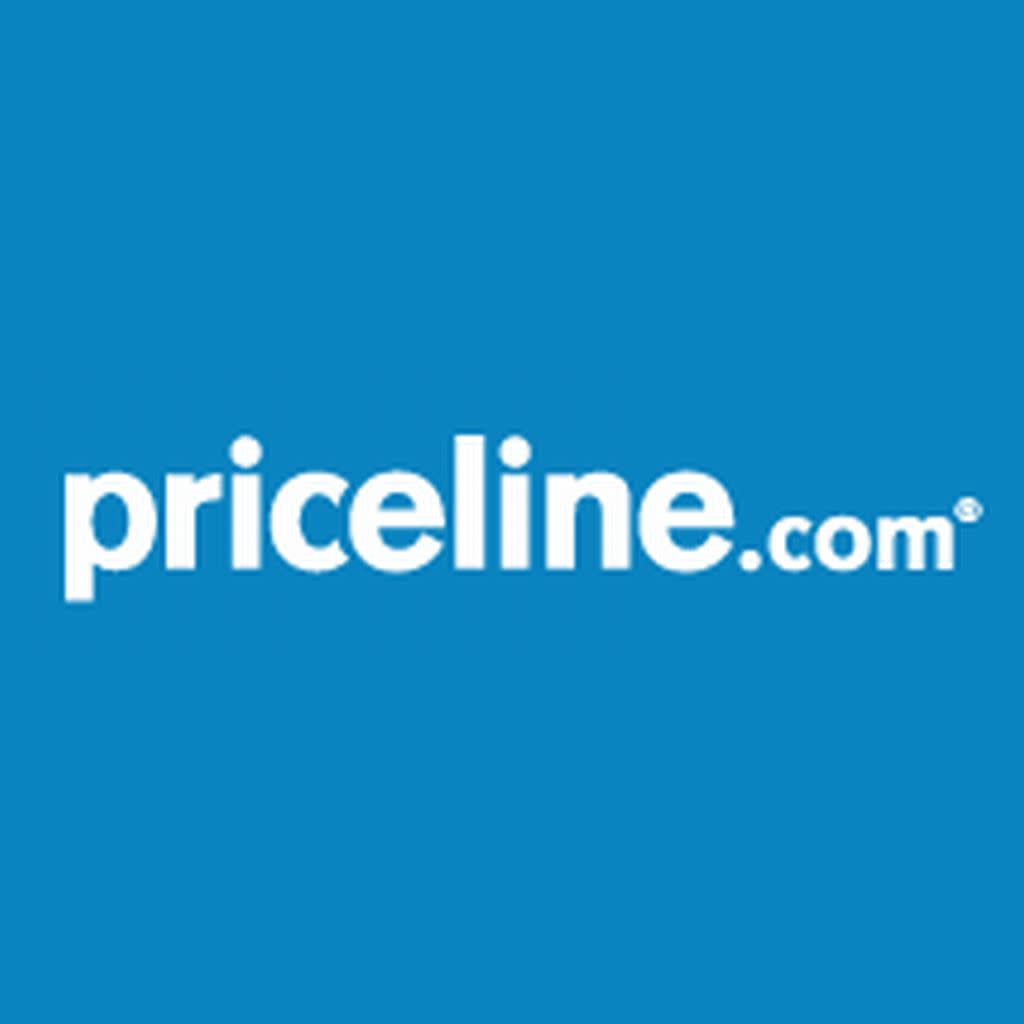 Priceline logo in blue