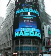 Nasdaq in Times Square