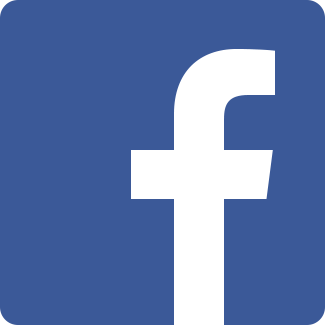 Facebook logo in blue