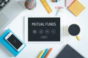 "iPad with ""Mutual Funds"" page open"