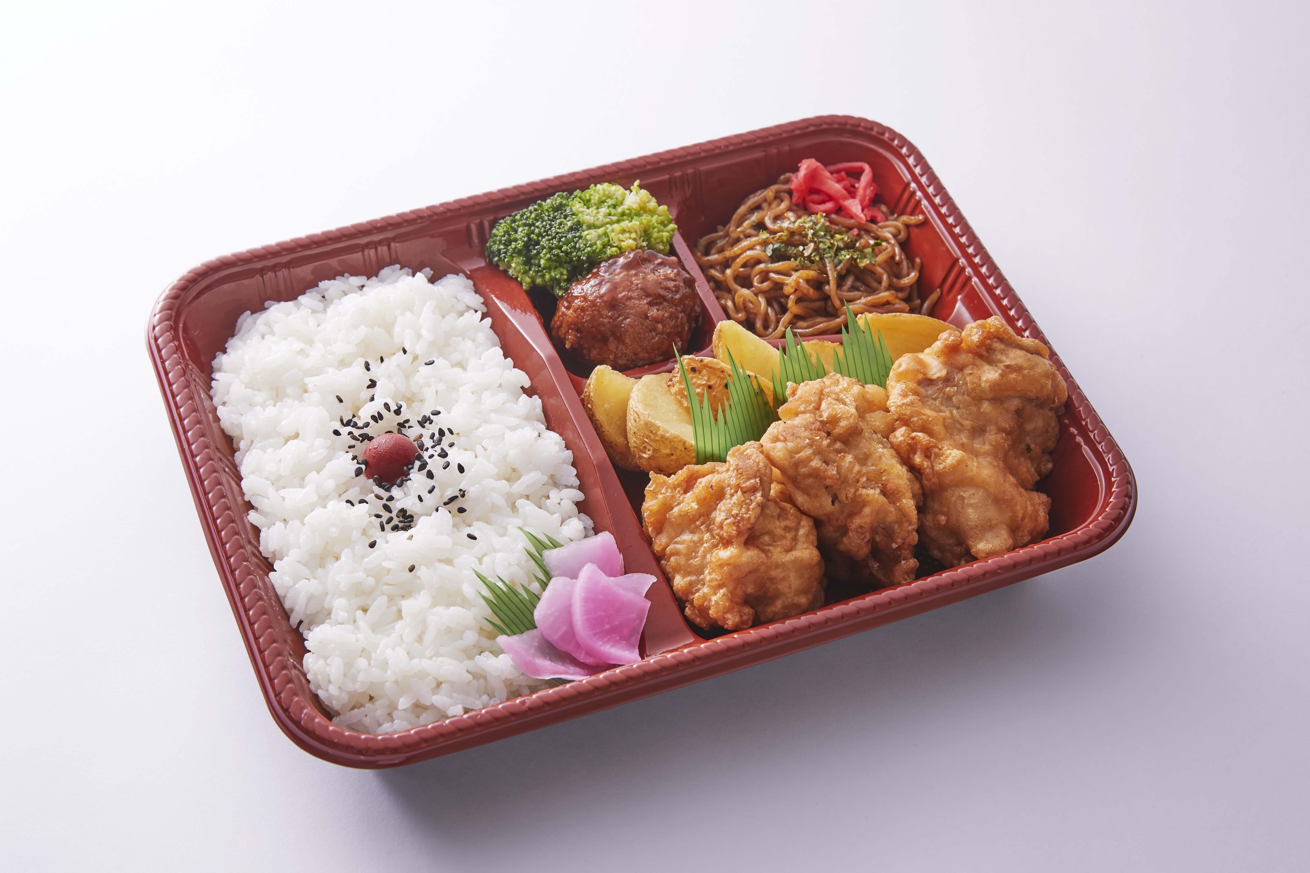 Foods & Shop - からあげ弁当(しょうゆ味)