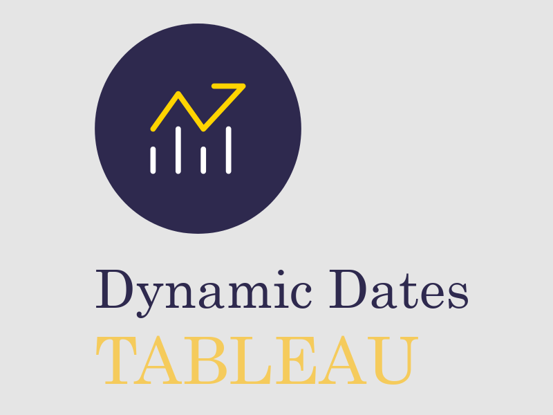 Dynamic Dates in Tableau