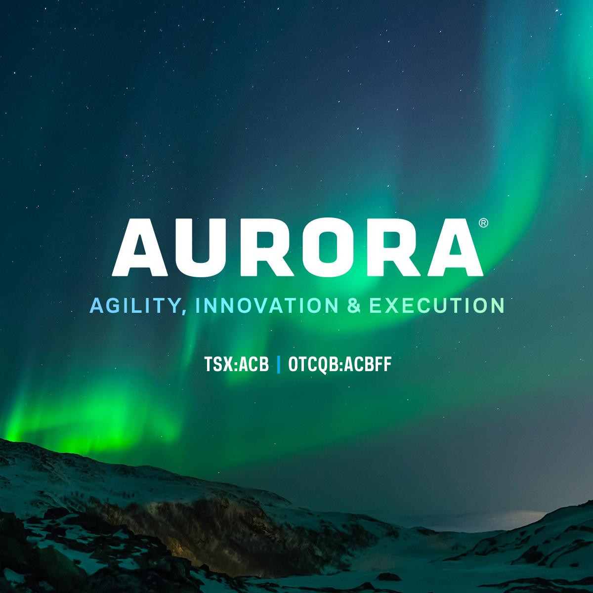 Home | Aurora Cannabis Investor Relations