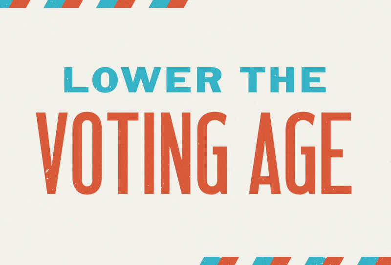 Lower the Voting Age logo