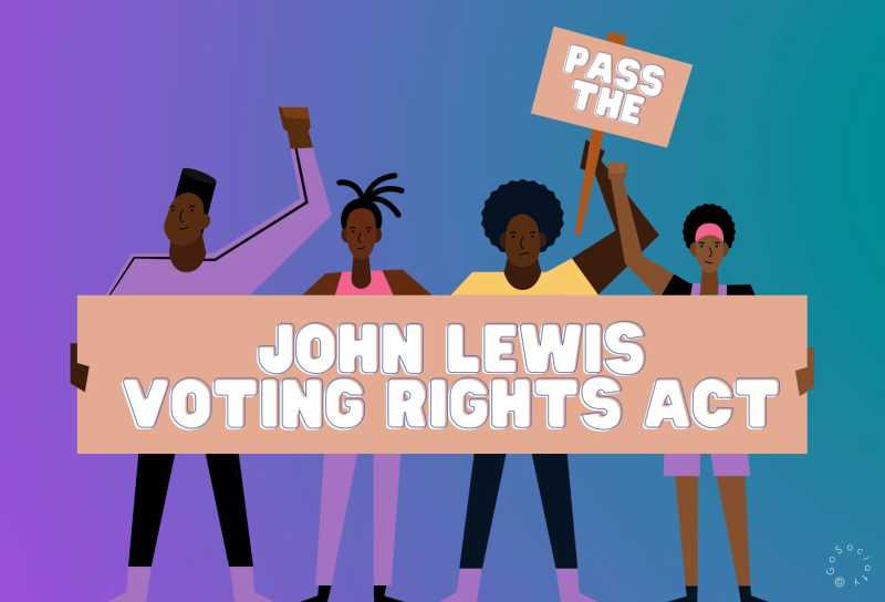 John Lewis Voting Rights Act logo