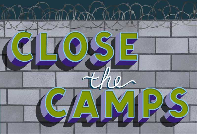 Close The Camps logo