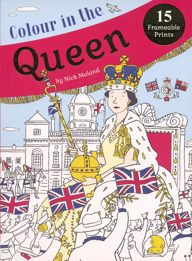 Colour in the Queen-Cover