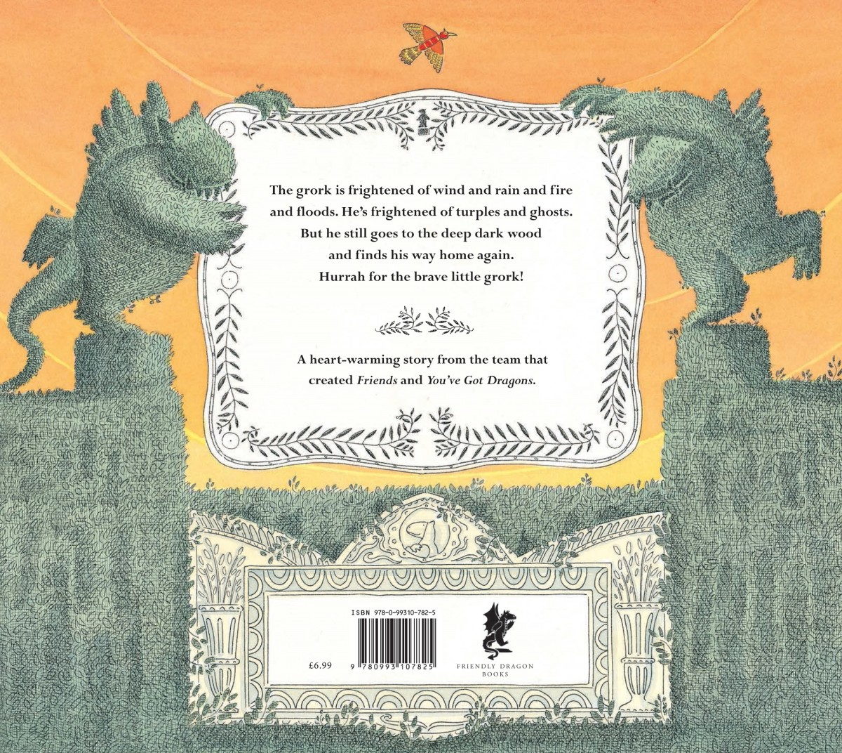 The Brave Little Grork Back Cover