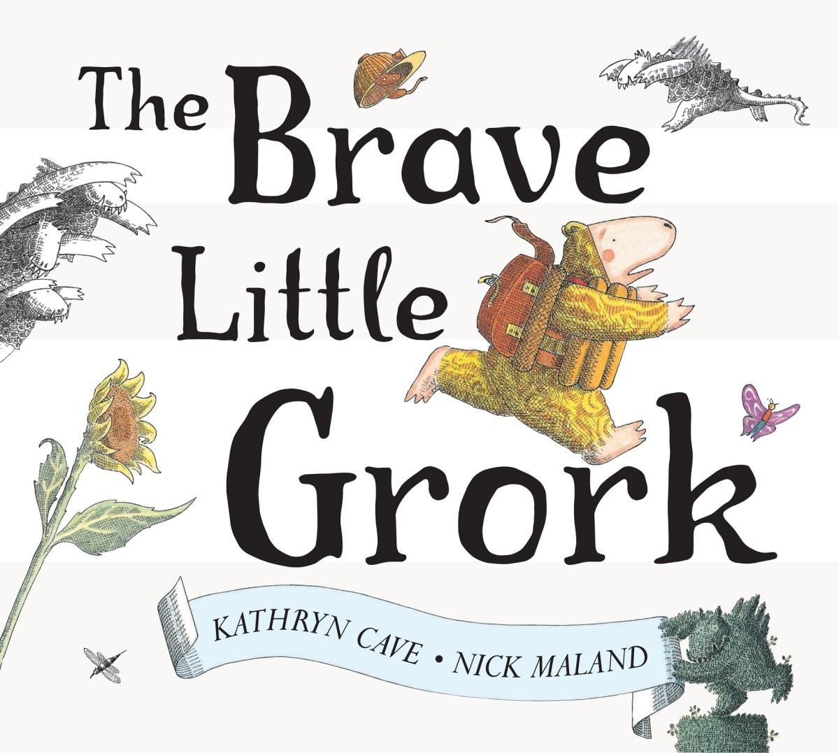 The Brave Little Grork Cover