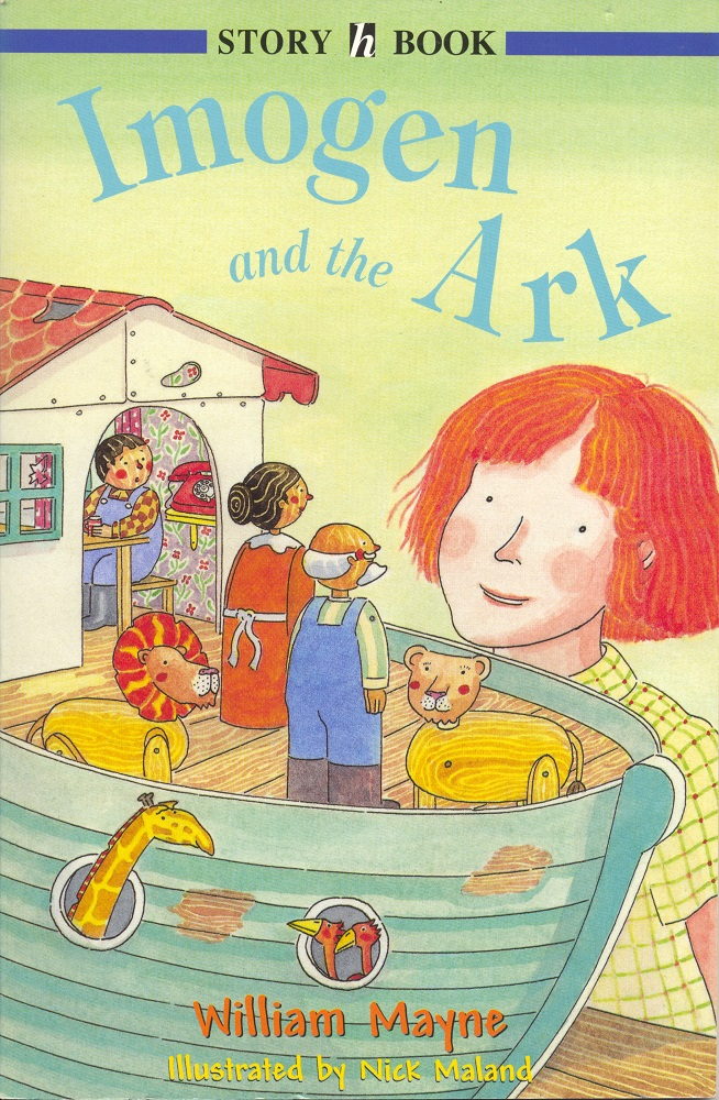 Imogen and the Ark Cover