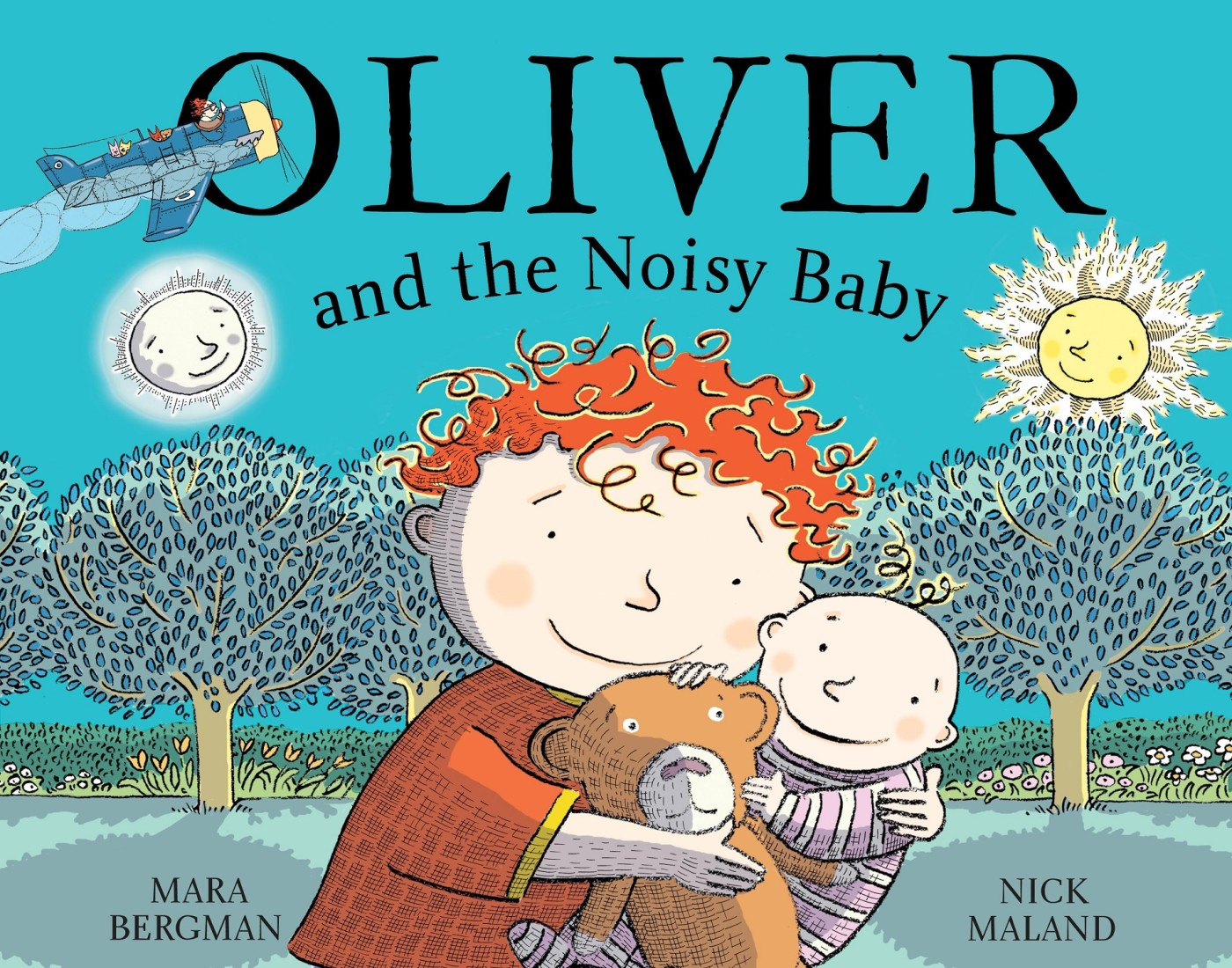 Oliver and the noisy baby Cover