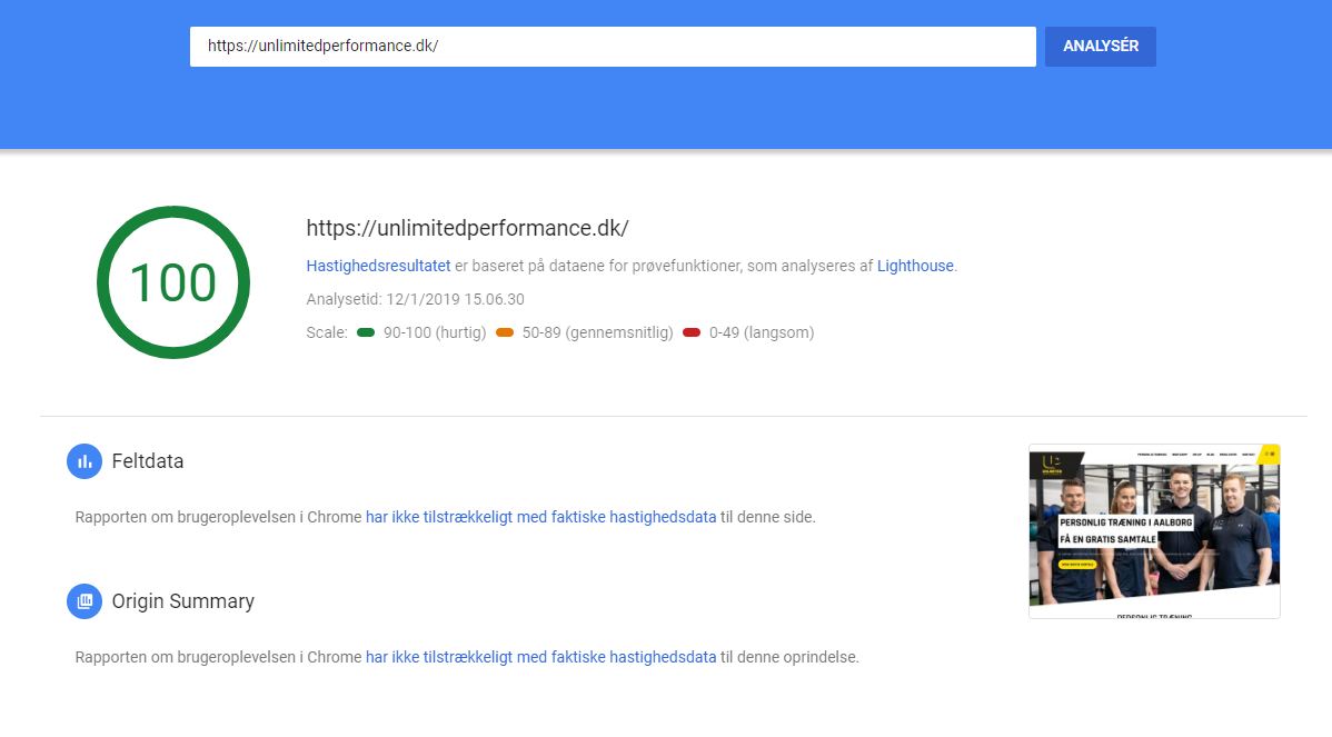 UP-Pagespeed