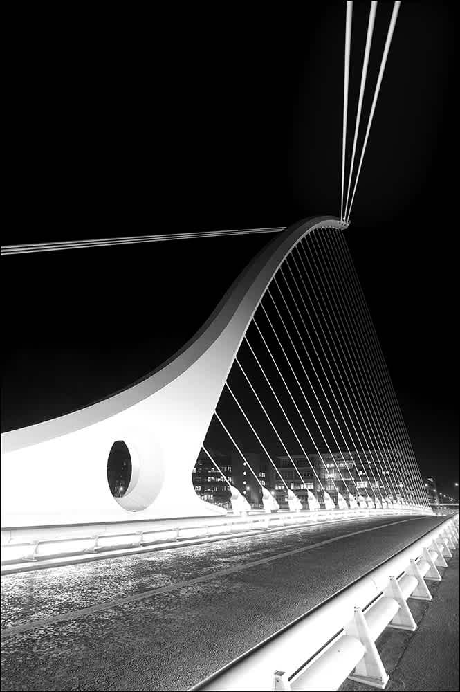 D201 - The Beckett Bridge, Dublin.