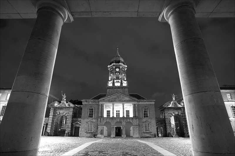D347 - Dublin Castle at night.
