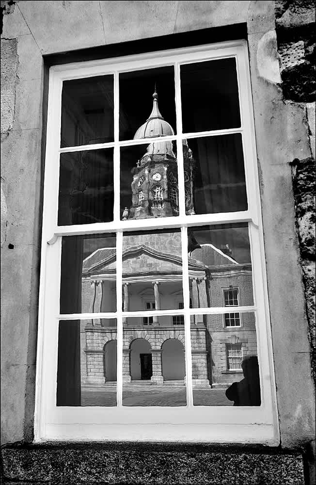 D578 - Dublin Castle Reflections.