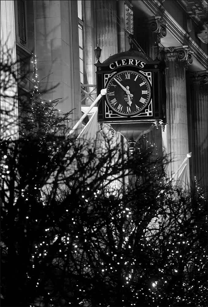 D500 - Under Clery's Clock, Dublin.